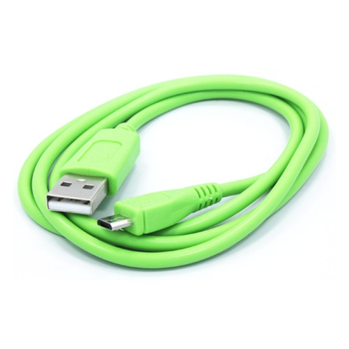 Green 3ft USB Cable Rapid Charger Sync Power Wire Data Transfer Cord Micro-USB Compatible With Verizon Ellipsis 7 8