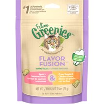 Cat Treats: Greenies Dental Treats Flavor Fusion
