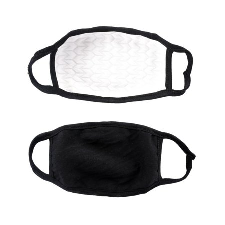 Anti Flu and Saw Dust Masks - Reusable Cotton Comfy Breathable Safety Air Fog Respirator - for Outdoor Half Face Masks - Protection Pollution Face Flu Allergens Masks for Women - Anti Allergen Dust