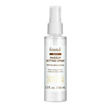 FOUND DEWY Makeup Setting Spray with Cloudberry Extract, 2 fl oz](Spray Makeup)