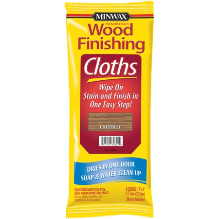 Minwax Premoistened Wood Finishing Cloths