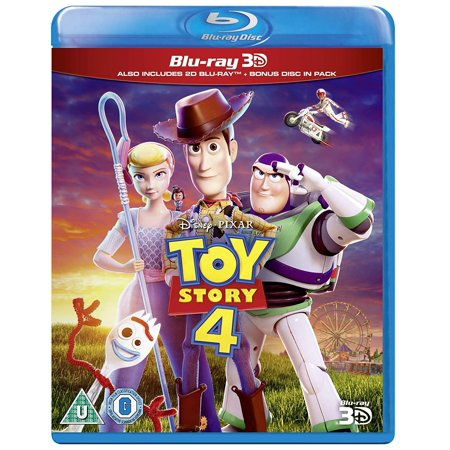 Toy Story 4 3D Blu-ray Region Free ()
