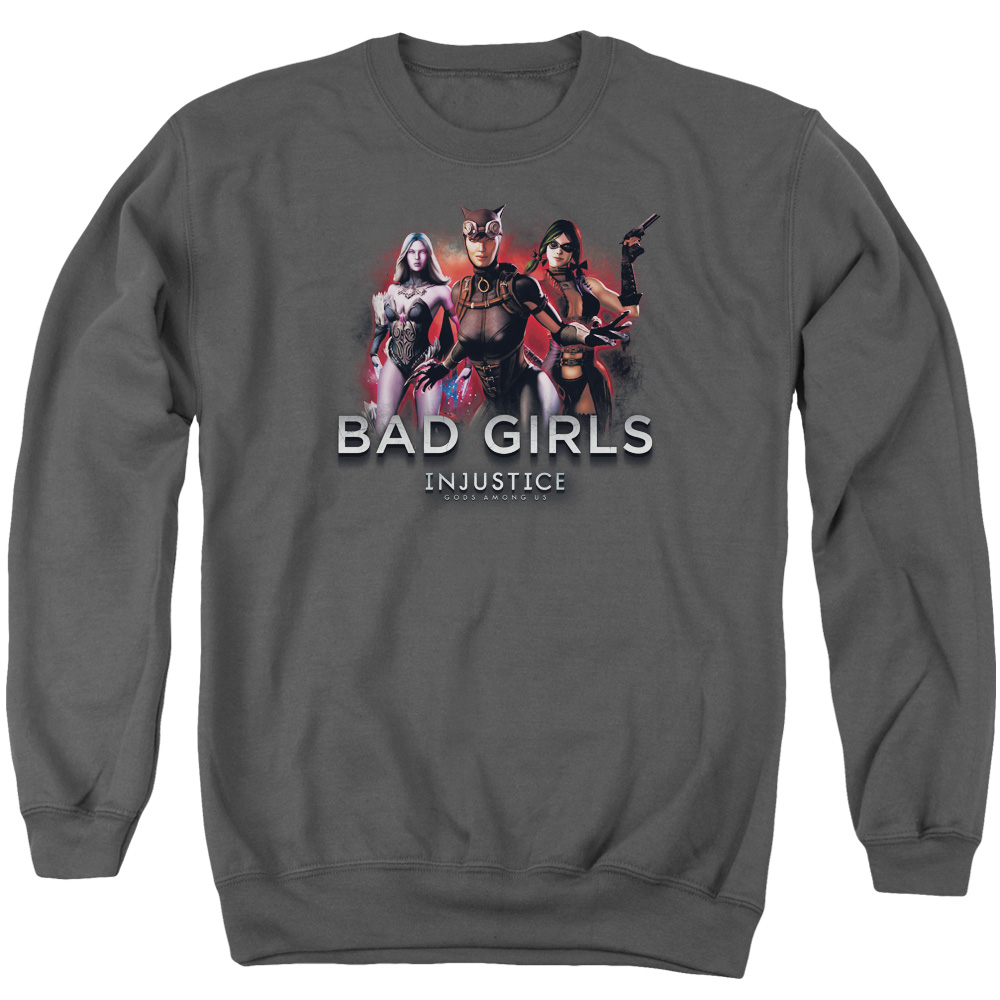 Injustice Gods Among Us Bad Girls Mens Crewneck Sweatshirt