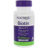 Natrol Biotin 10000mcg Tablets, 100 Ct