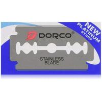 ST300 Platinum Extra Double Edge Razor Blades - 500 Count, 100 Double Edge Safety Razor Blades By DORCO