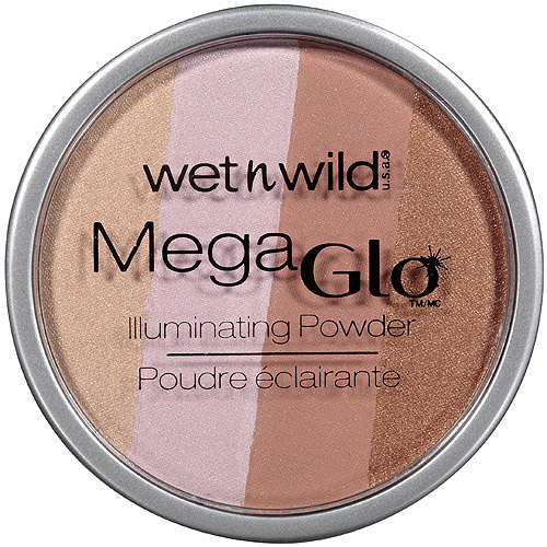 Wet n Wild MegaGlo Illuminating Powder, 345 Catwalk Pink, 0.32 oz