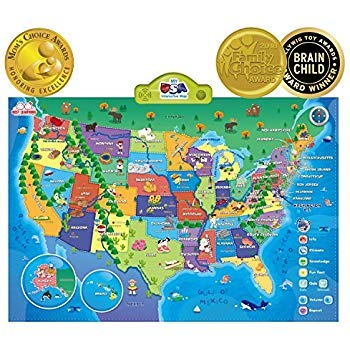 Small World Toys My USA Interactive Map by