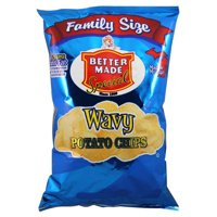 Better Made Wave Family Size Potato Chips, 10 Oz.