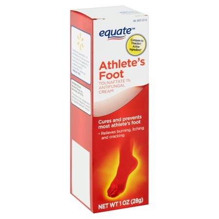 Equate Athlete's Foot Antifungal Cream, 1 oz - Walmart com