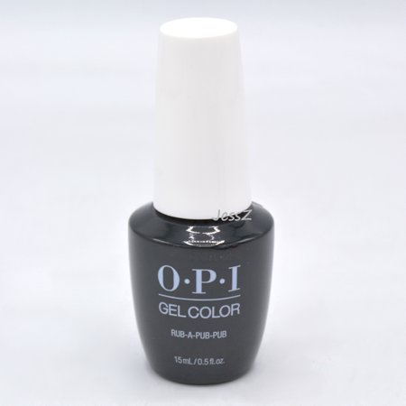 OPI Gel Polish Fall 2019 Scotland Collection GCU18 Rub-a-Pub-Pub 0.5
