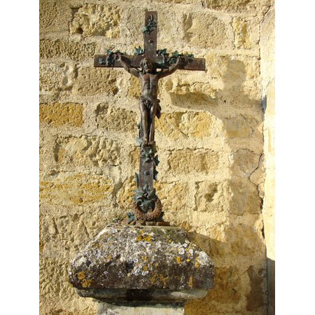 LAMINATED POSTER Symbol Christianity France Barran Wayside Cross Poster Print 24 x (French Cross)