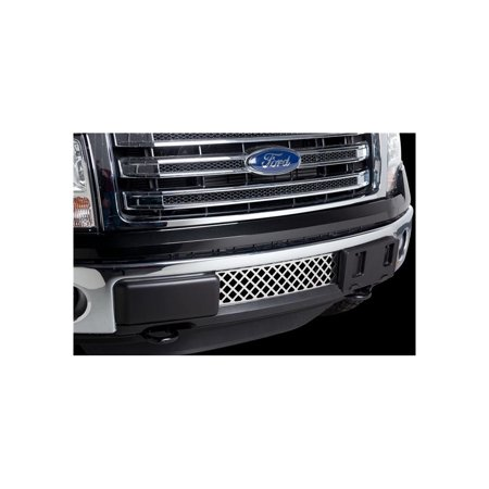 - Putco 82182 Billet Grille For Ford F-150, Stainless Steel Bumper Insert