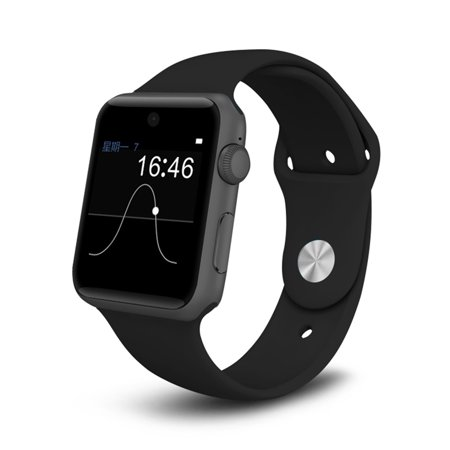 Android Smart Watch w/ SIM Card Slot 2.5D ARC HD Screen for iPhone Android Samsung