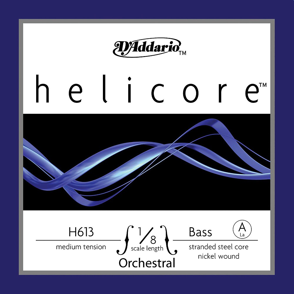 D'Addario Helicore Orchestral Series Double Bass A String 1/8 Size