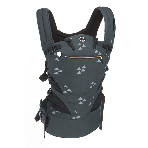 Contours Love 3-in-1 Baby & Child Carrier with 3 Seating Positions, Cityscape Grey