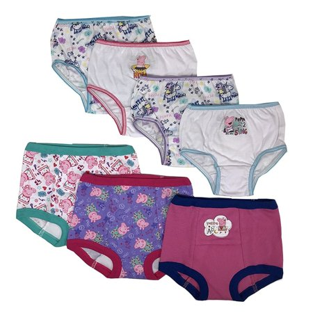 Peppa Pig Toddler Girls' 3pk Training Pants and 4pk Panty
