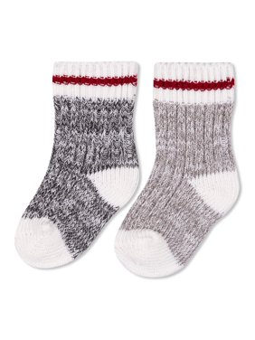 2-Pack Ragg Crew Socks (Infant & Toddler)