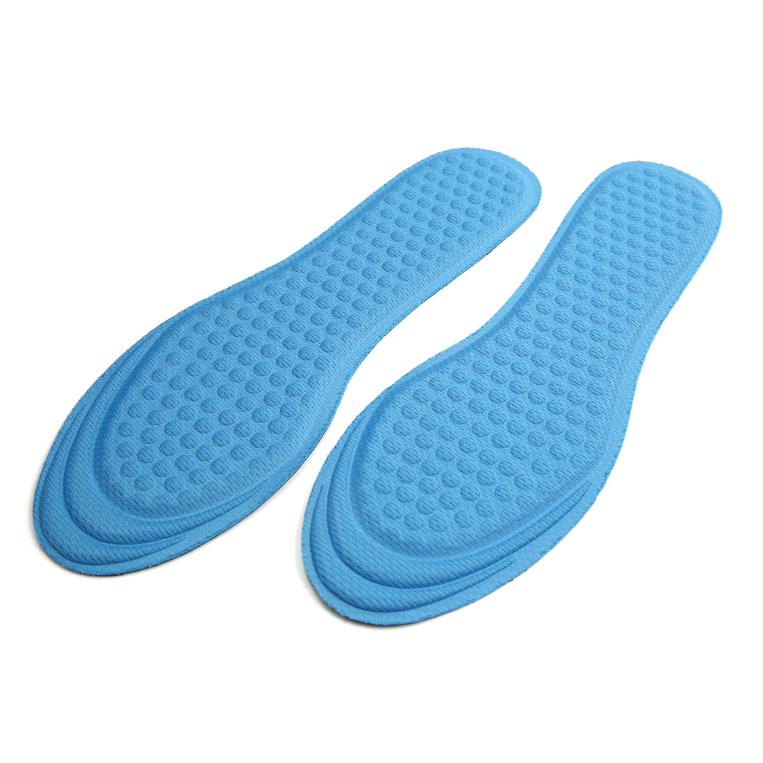 1 Pair Blue Sponge Breathable Anti-slip Sports Insert Insoles Shoes Pad Cushion
