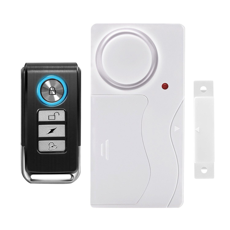 Wireless Anti-Theft Remote Control Magnetic Sensor Door Window Home Entry Security Burglar Bell Alarm