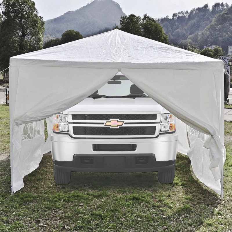 Aleko Tent for Outdoor Picnic Party or Storage 30 x 10 White by ALEKO