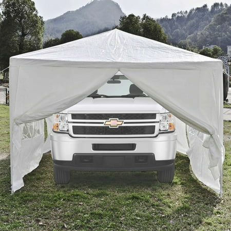 Aleko Tent For Outdoor Picnic Party Or Storage 30 X 10 White