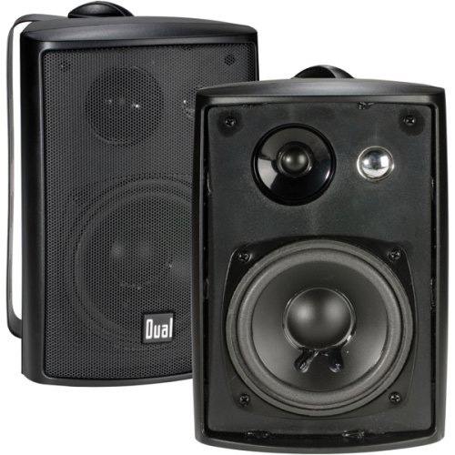 Namsung LU43PB Indoor/Outdoor 3-way Speaker - Black