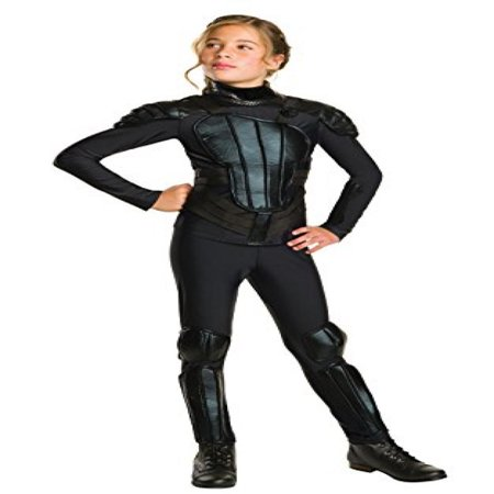 Rubies Costume   Rebel   Mockingjay Part 1 The Hunger Games Deluxe Katniss Costume  Medium  One Color