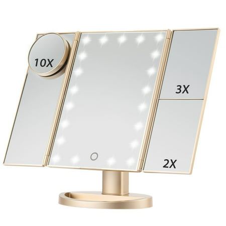 Led Lighted Makeup Mirror Magicfly 10x 3x 2x 1x