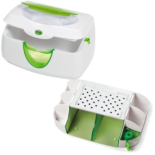 Munchkin Diaper Duty Organizer with Warm Glow Wipe Warmer
