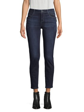 Zipped Ankle Jeans