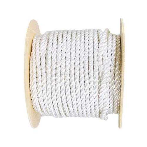 Wellington Cordage G1024S0500FR 3/8x500 Braid Nylon Rope