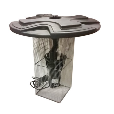 Outdoor Water Solutions 1 HP Eco Floating Fountain with Power Cord