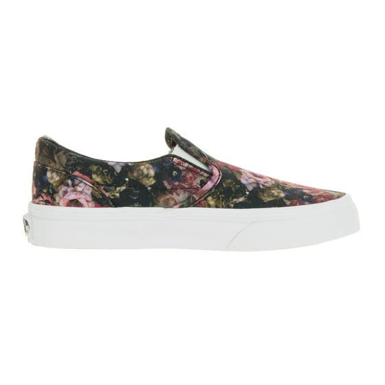 e6692f6afd Vans - Vans Kids Classic Slip-On (Moody Floral) Skate Shoe - Walmart.com