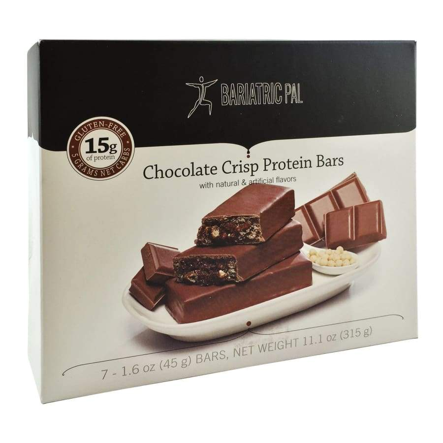 BariatricPal Low Carb Protein & Fiber Bars - Chocolate Crisp