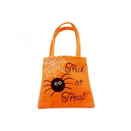Hand Painted Halloween Pumpkins (VICOODA Halloween Pumpkin Stereo Handbag Halloween Children's Candy Biscuit Gift Bag Halloween Decoration)