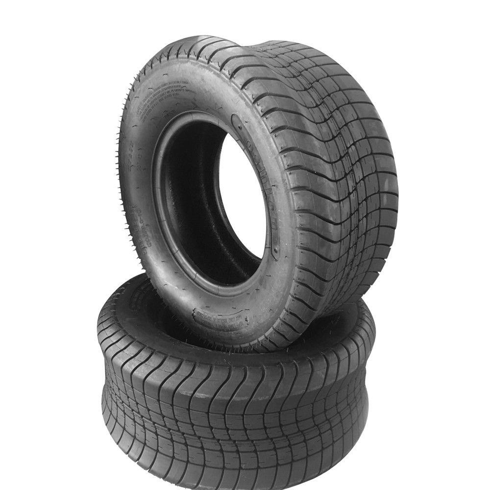 Ktaxon 2 Bias Trailer Tires 205/65-10 10ply with warranty 205/65-10