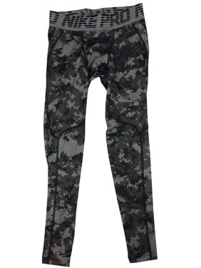online store 66b91 871a0 Product Image Nike Mens Pro Hypercool Digital Camo Compression Tight Pants  White Black New (Black,