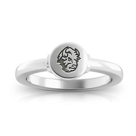 North Dakota State University - NDSU Logo Engraved Signet - Dakota Ring