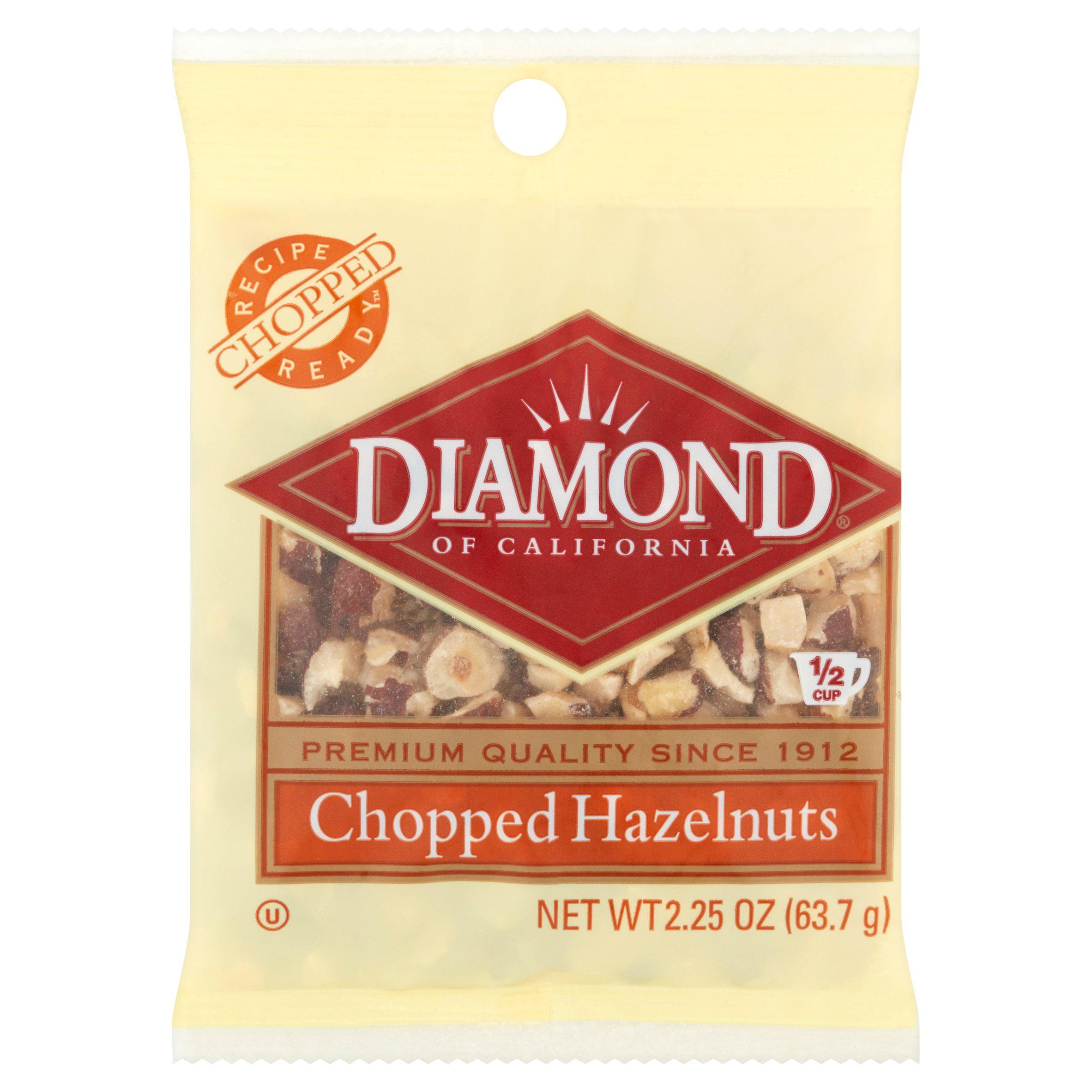 Diamond Chopped Hazelnuts, 2.25 OZ by Diamond Foods, Inc.