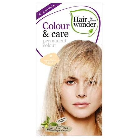 Hair Wonder Color & Care Very Light Blond 9 ()