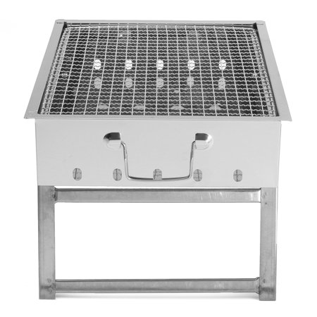 Outdoor Portable Folding Stainless Steel Barbecue Grill BBQ Picnic Camping  new - image 6 of 11