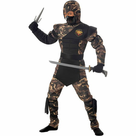 Special Ops Ninja Child Halloween Costume (Psych Halloween Special)