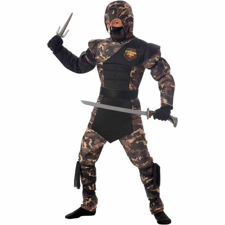Special Ops Ninja Child Halloween Costume (Floor 8 Halloween Special)
