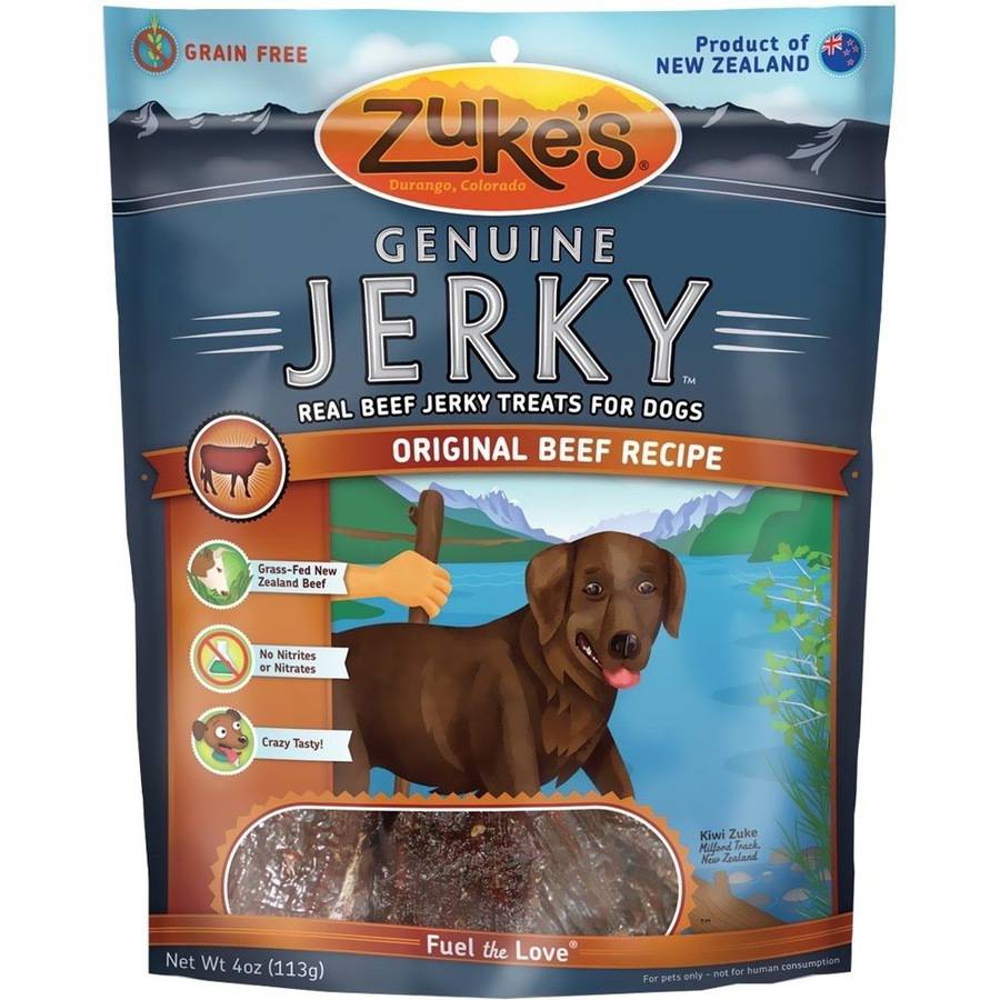 Zuke's Genuine Jerky, Original Beef, 4 oz