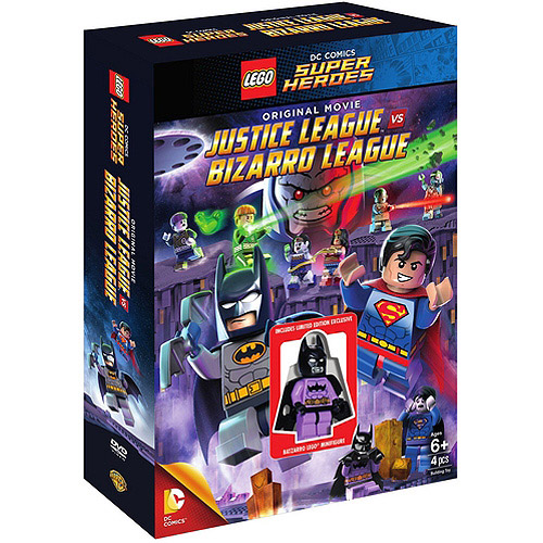 LEGO: DC Comics Super Heroes: Justice League Vs. Bizarro League (DVD + Batzarro LEGO Minifigure) (Widescreen)