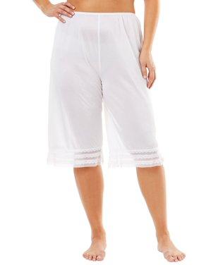 White Womens Plus Pants - Walmart.com