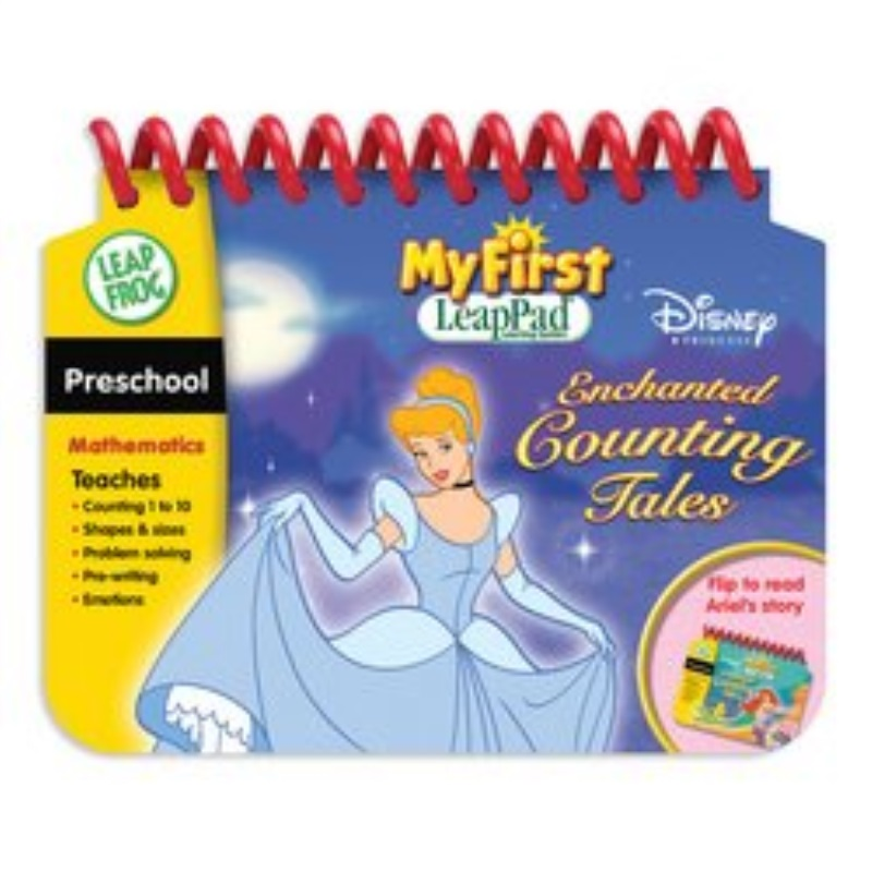 LeapFrog My First LeapPad Educational Book: Disney Princess Enchanted Counting Tales