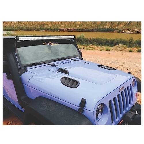 Daystar International 07-16 Wrangler JK Center Cowl For Factory Hood, Paintable