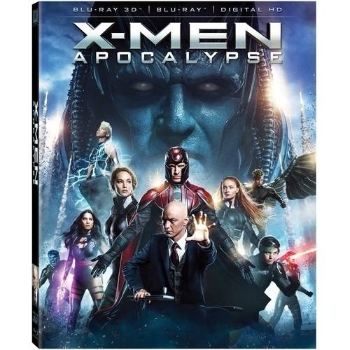 X-Men: Apocalypse (3D Blu-ray   Blu-ray   Digital HD)