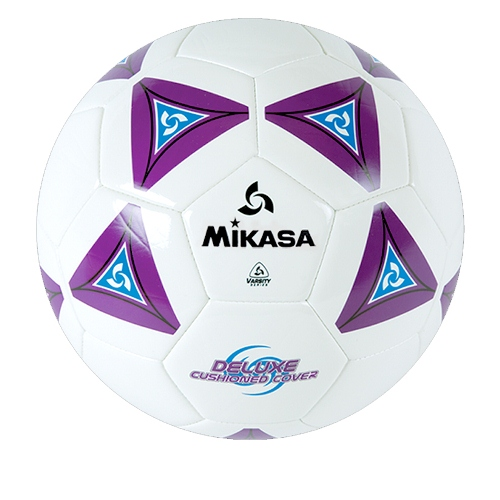 Soccer Ball by Mikasa Sports - SS Series Size 3, Purple/White